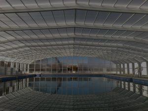 couverture piscine automatique - abris grande largeur (maroc)