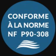 NF P90-308 abri piscine maroc