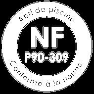NF P90-309 abri piscine maroc